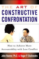 Book cover for The Art of constructive confrontation